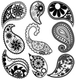 Paisley patterns vector | Price: 1 Credit (USD $1)