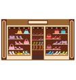 Shop of shoe vector image vector image