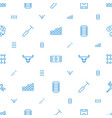 texture icons pattern seamless white background vector image vector image