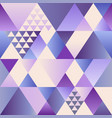 ultra violet art deco seamless pattern vector image
