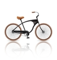 Realistic Bicycle Isolated vector image