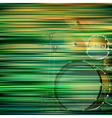 abstract green blur background with drum kit vector image vector image