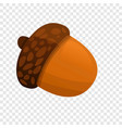 acorn icon cartoon style vector image vector image