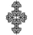 Antique ottoman turkish design one vector image vector image