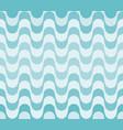 blue waves seamless pattern rio de janeiro vector image vector image