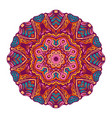 festival mandaa round ornament vector image vector image