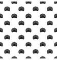gray baseball cap back pattern seamless vector image vector image