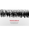 Large group of people background vector image vector image