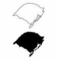 rio grande do sul state vector image vector image