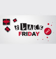 big sale template black friday flyer special offer vector image