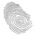 Binary finger print vector | Price: 1 Credit (USD $1)