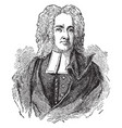cotton mather vintage vector image vector image