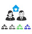 enjoy people marriage icon vector image vector image