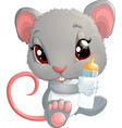 house mouse vector image vector image