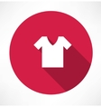 shirt Icon vector image vector image