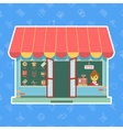 shop or store vector image