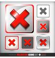 Validation icons set vector image