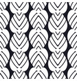 vintage seamless art deco pattern template for vector image