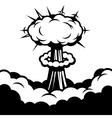 comic boom icon explosion vector image vector image