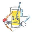 cupid lemonade character cartoon style vector image