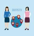 diversity around world vector image
