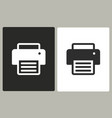 printer - icon vector image vector image