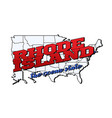 rhode island state with us island state vector image vector image