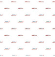 ship river pattern seamless vector image