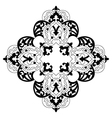 Antique ottoman turkish design two vector image vector image