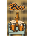 Beer Still life vector image