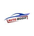cars and auto detailing logo design concept