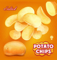 classic salted potato chips advertising
