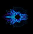 colorful noisy circular vibration abstract vector image vector image