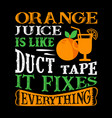 funny food quote and saying good for print vector image