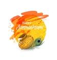 Happy Janmashtam card vector image