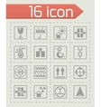 Marking of cargo icon set vector image vector image