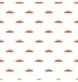 ship retro pattern seamless vector image
