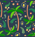 summer seamless pattern 1 vector image