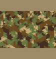 triangles pattern in camouflage military army vector image vector image