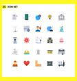 universal icon symbols group 25 modern flat vector image vector image