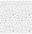 abstract triangles pattern honeycomb grid vector image