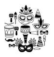 carnival festive celebration vector image vector image