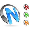 Company symbol vector image