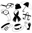 fashion accessories vector image