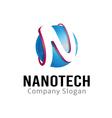 Nanotech Design vector image vector image