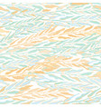 seamless colorful pattern with foliage and plants vector image vector image