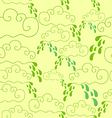 seamless pattern of raining vector image vector image