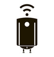 smart home boiler icon simple style vector image vector image
