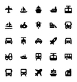 Transportation Icons 2 vector image vector image
