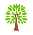tree icon in cartoon style stock vector image